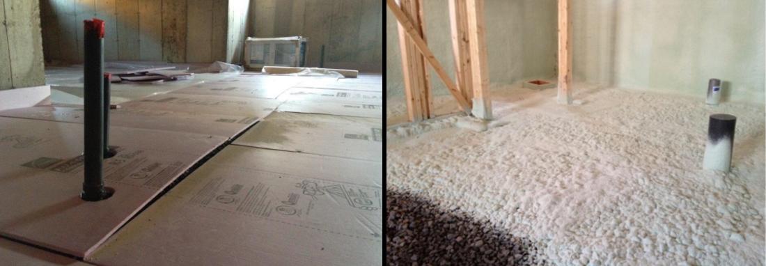 Comment isoler efficacement la dalle de béton du sous-sol