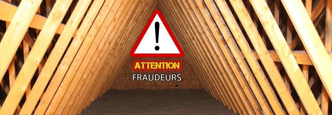 Mise en garde : attention aux entreprises d'isolation frauduleuses