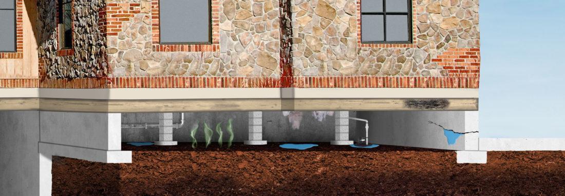 Comment corriger l'isolation d'un vide sanitaire humide et froid
